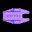 OpenRC_Mini_Quad_Top_Deck.stl Télécharger fichier STL gratuit OpenRC 220 FPV Mini Quad • Objet à imprimer en 3D, DanielNoree