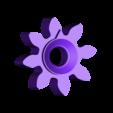 GEAR-8T_R2.stl Download free STL file Math Gear(s) • 3D print design, WorksBySolo