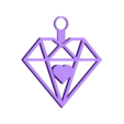 Heart_squared.stl Download STL file Heart squared pendant • 3D printing design, asturmaker3d
