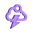 Storm cloud earring_.stl Download free STL file Storm cloud earring • 3D printer object, Majs84