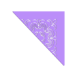 pattern_half.stl Download free STL file floral wall stencil • 3D print template, AlbertFarres
