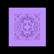 pattern.stl Download free STL file floral wall stencil • 3D print template, AlbertFarres
