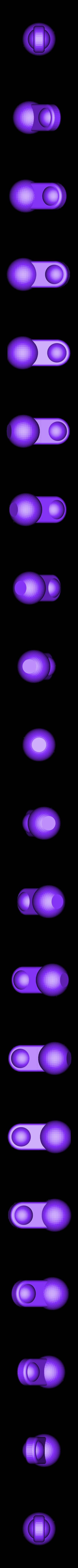v2_thumb_6mm_ball_hinge.stl Télécharger fichier STL gratuit TRANSFORMERS CW POSABLE HANDS 2.0 • Design pour impression 3D, sickofyou
