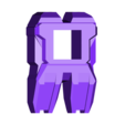 foot06_WIDE.stl Télécharger fichier STL gratuit Transformers COMBINER WARS Bruticus and Menasor Feet • Objet à imprimer en 3D, sickofyou