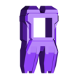 foot09_NARROW.stl Télécharger fichier STL gratuit Transformers COMBINER WARS Bruticus and Menasor Feet • Objet à imprimer en 3D, sickofyou