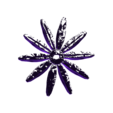 Flower Petal 1.stl Download free STL file Daisy - Flat flower • 3D printable template, mag-net