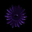 Flower Petal 3.stl Download free STL file Daisy - Flat flower • 3D printable template, mag-net