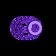 Mesh Vase 20.stl Download STL file PET Bottle Vase • Template to 3D print, Roger