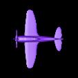 p47_beta2__repaired_.stl Download free STL file P-47 Thunderbolt • 3D printing design, Roger