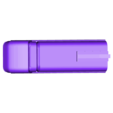Top-TL.stl Download free STL file Full Sized Halo Plasma Pistol • 3D printer template, ChaosCoreTech