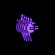 TRex_Tail1.stl Télécharger fichier STL gratuit T-Rex Skeleton - Leo Burton Mount • Objet à imprimer en 3D, LordLilapause