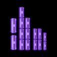TRex_H-Clips.stl Télécharger fichier STL gratuit T-Rex Skeleton - Leo Burton Mount • Objet à imprimer en 3D, LordLilapause