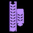 CAPSULE.stl Download free STL file coffee capsule rail • 3D printable template, kimjh