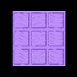 Water3x3.stl Download free STL file Modular Grassland Tactics Tiles (18mm scale) • 3D printable model, Dutchmogul