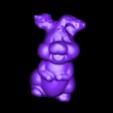 lapin_paques.stl Télécharger fichier STL gratuit Petit lapin jaune • Objet pour imprimante 3D, Pegazepi