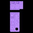 Interseat02.stl Download STL file Vario Lynx 1:8 scale cockpit interior. • Template to 3D print, tahustvedt