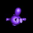 Lemur king02ok-support.stl Download free STL file Cute animal - lemur king potted • 3D printing model, mingshiuan