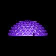 Spikey_Top_2.STL Download free STL file Squishy Turtle • 3D print template, jakejake
