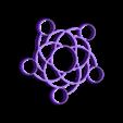 spinner_5_balls.stl Télécharger fichier STL gratuit Spiral five balls spinner • Modèle imprimable en 3D, bda