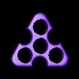 triangle_spinner_2.stl Télécharger fichier STL gratuit Triangle spinner • Design pour imprimante 3D, bda
