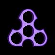 triangle_spinner_1.stl Télécharger fichier STL gratuit Triangle spinner • Design pour imprimante 3D, bda