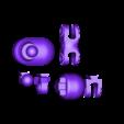 rightleg_v2.STL Télécharger fichier STL gratuit Carnivorous cannon • Plan pour impression 3D, Steyrc