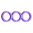 Three_Ring_Spinner.stl Télécharger fichier STL gratuit Three Ring Spinner • Design à imprimer en 3D, Desktop_Makes