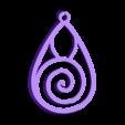 earring.stl Télécharger fichier STL gratuit Spiral Earrings • Design imprimable en 3D, koukwst