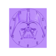 reloj_star_wars_3dlito.stl Download free STL file Darth Vader Clock • 3D printable template, 3dlito