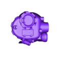 Amelix TURRET.STL Download STL file Amelix tankoped • Template to 3D print, Steyrc