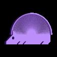 Puercoespin_3.stl Télécharger fichier STL gratuit Hedgehog with spikes (hairy print) • Modèle pour imprimante 3D, llaffa