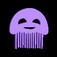 Jellyfish.stl Télécharger fichier STL gratuit Fantasy combs ocean - Peignes fantaisie océan • Plan pour imprimante 3D, Julien_DaCosta