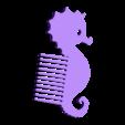 Seahorse.stl Download free STL file Fantasy combs ocean - Fantasy combs ocean • Design to 3D print, Julien_DaCosta