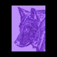 lobo 3dlito.stl Télécharger fichier STL gratuit dessin 3D WOLF (WOLF) • Objet imprimable en 3D, 3dlito