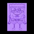 BOB ESPONJA 3DLITO.stl Télécharger fichier STL gratuit 3D TIRAGE SPONGEBOB • Modèle imprimable en 3D, 3dlito