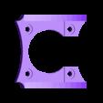 fixation lipo 260Mha 1S Nanotech mini racer brushless 0703 .stl Télécharger fichier STL gratuit Micro Quad fpv Racer 100mm Brushless 1S 0703 20.000kv • Modèle à imprimer en 3D, Microdure