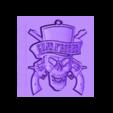 llavero_guns.stl Download free STL file Guns N 'Roses Keychain • 3D printing model, 3dlito