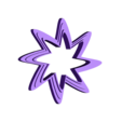 stars_middle.stl Download free STL file Stars for deco • 3D printing design, squiqui