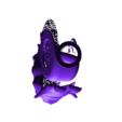 lufysnail.stl Download free STL file One Piece snail phone stand • 3D print object, orangeteacher