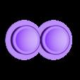 comfy_cap_2x608.stl Télécharger fichier STL gratuit Fidget Spinner Mitsu remix with 10mm balls • Objet imprimable en 3D, bda