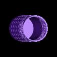 pot de crayon.stl Download STL file PERSONALIZABLE PENCIL HOLDER IBARAKEL • 3D printing design, Ibarakel