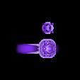 RF158010(FINAL).stl Download STL file Beautiful 3D Jewelry CAD Model For Wedding Ring • 3D printable design, VR3D