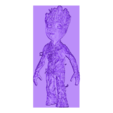 Baby_Groot.stl Download free STL file Baby Groot lithophane • 3D printing object, 3dlito