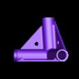 raccord droit 3 tubes angle 102.stl Download free STL file Pipe brackets dia 12 • 3D printing model, mk25