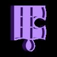 puzzle new 6 sans accroche.stl Download STL file PUZZLE SHELVES • 3D print model, catf3d