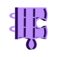 puzzle new 6 accroche.stl Download STL file PUZZLE SHELVES • 3D print model, catf3d