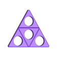 triforce.stl Download STL file Hand Spinner Zelda • Template to 3D print, Guich