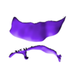 Captin_Cave_Man__-_Cape_Orange.stl Download free STL file Captain Caveman!!!!!!! • 3D printer design, mag-net