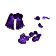 Captin_Cave_Man_-_Arms_Feet_Tan.stl Download free STL file Captain Caveman!!!!!!! • 3D printer design, mag-net