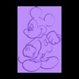 mickey_mouse_lithophane.stl Télécharger fichier STL gratuit Mickey Mouse lithophanie • Modèle pour impression 3D, 3dlito
